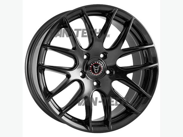 Wolfrace Munich 18″ Gloss Black Alloy Wheels for Volkswagen T5  van