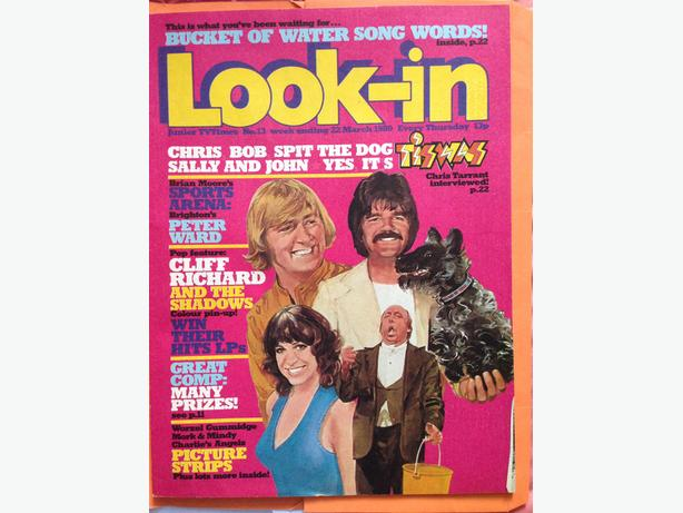 Tiswas Look In Magazine