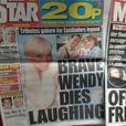Wendy Richard Life & Death on 3 Papers