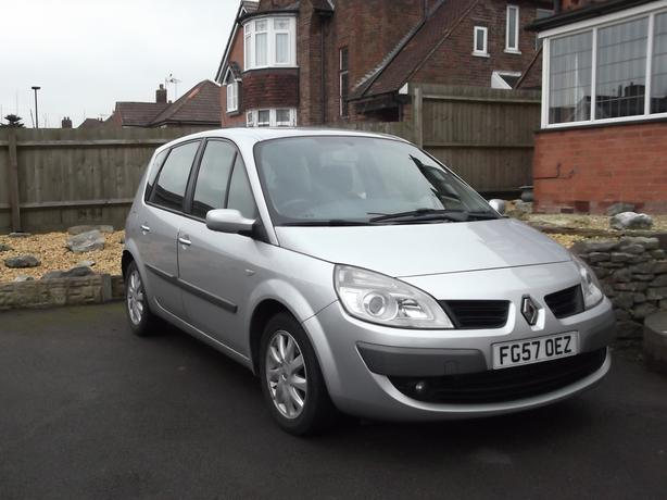 renault scenic dynamique 1 5 dci 2007 57 reg walsall walsall. Black Bedroom Furniture Sets. Home Design Ideas