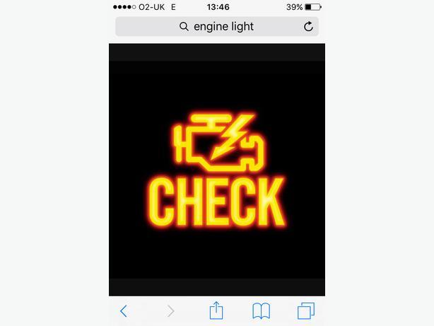 Diagnostics. Engine management light on?