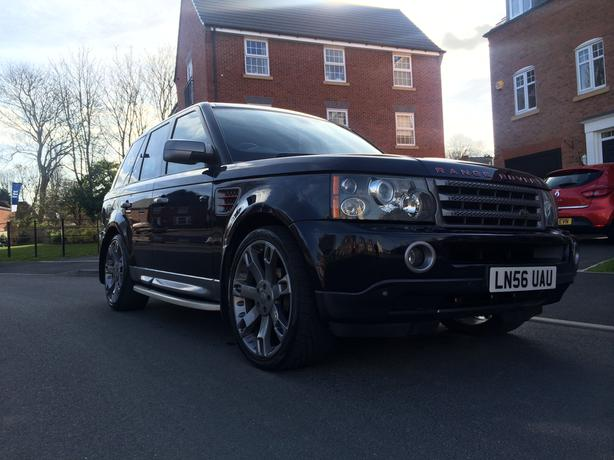 2006 range rover sport hse tdv6 2 7 overfinch spec smethwick walsall. Black Bedroom Furniture Sets. Home Design Ideas