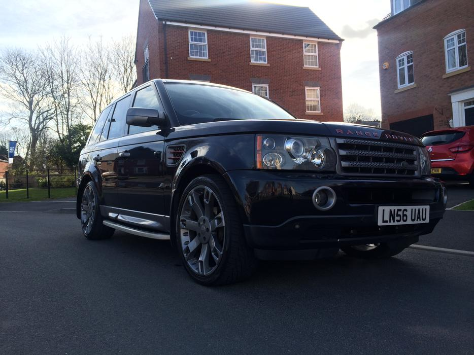 2006 range rover sport hse tdv6 2 7 overfinch spec. Black Bedroom Furniture Sets. Home Design Ideas