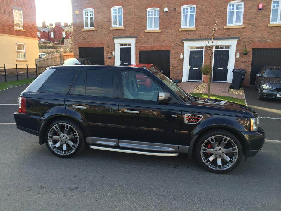 2006 range rover sport hse tdv6 2 7 overfinch spec smethwick dudley. Black Bedroom Furniture Sets. Home Design Ideas