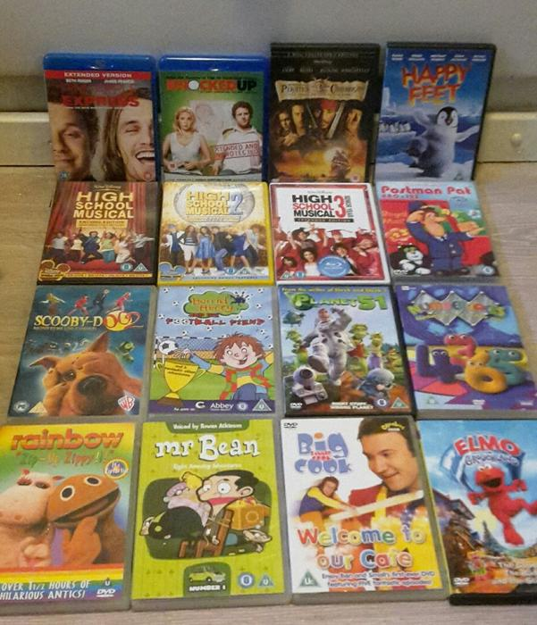 dvd amp blu ray joblot including boxsets dudley dudley