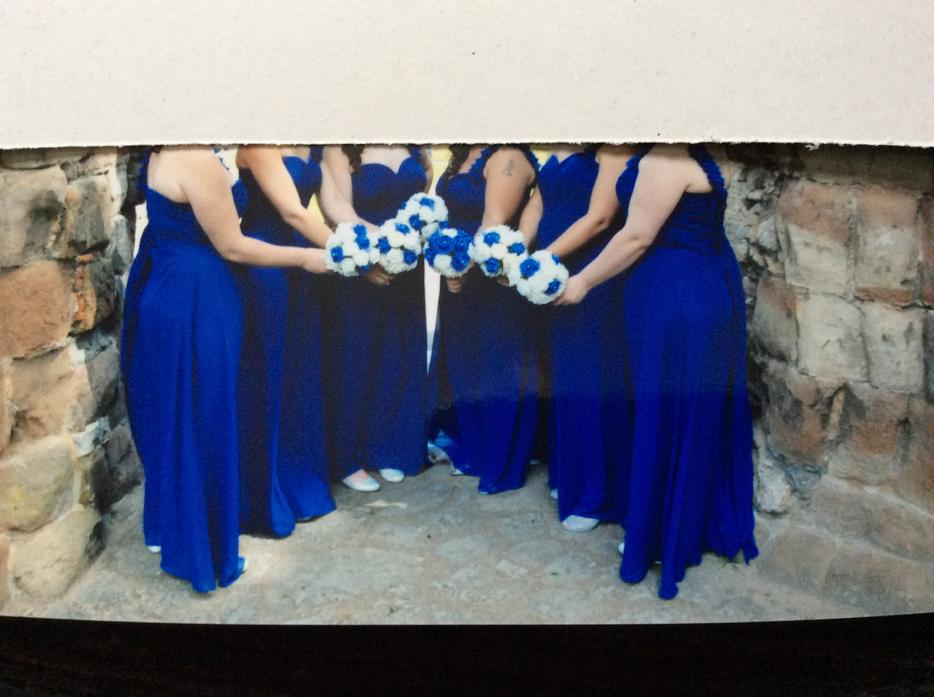 6 X Royal Blue Bridesmaid Dresses Other Dudley