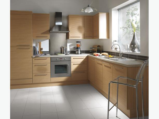 7 Piece Kitchen Units - Natural Oak - BRAND NEW