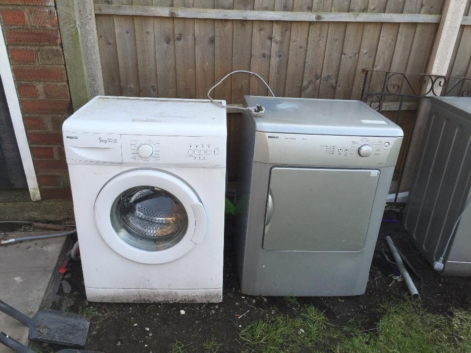 Classified Ad For Sale Car Wash Equipment: For Sale Spare Or Repair Washing Machines/dryer Tipton