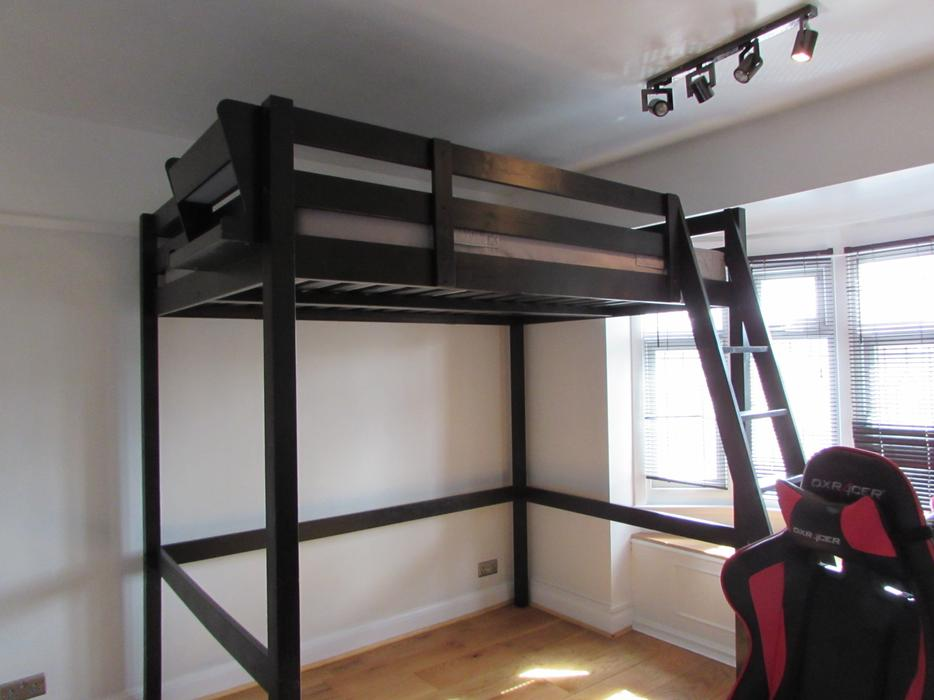 ikea stora loft bed and mattress double high sleeper dudley sandwell. Black Bedroom Furniture Sets. Home Design Ideas