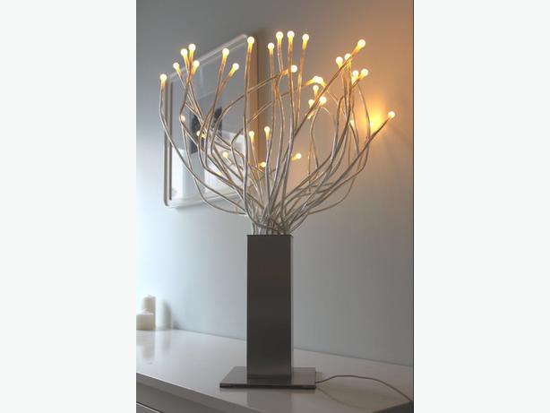 IKEA STRANNE MULTI LED STEEL BENDY LIGHT LAMP RARE