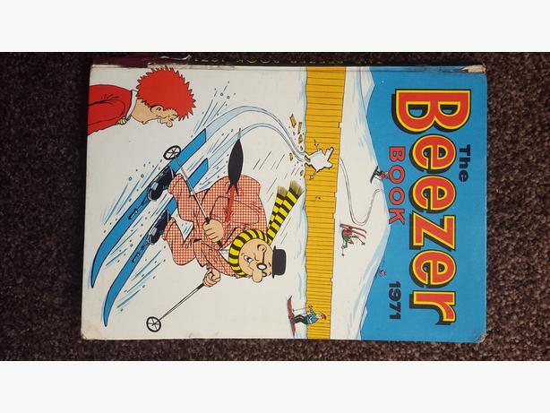the beezer book 1971