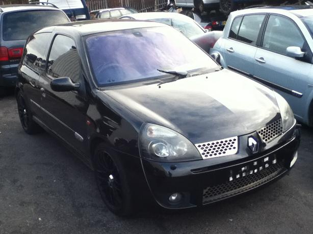 RENAULT SPORT CLIO 172 182 BREAKING BLACK SILVER BLUE
