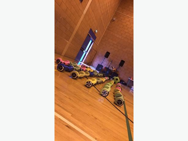 Hoverboard Disco At Dudley & Stourbridge Leisure Centre