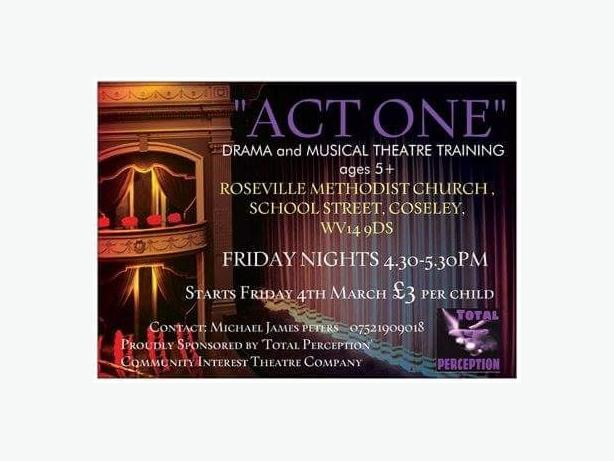 Drama and Music Theatre training