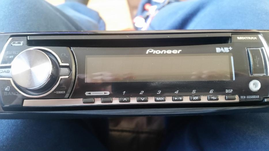 pioneer deh x6500dab dab car stereo usb cd player i pod  iphone connection wolverhampton  walsall 2003 Seat Ibiza TDI Seat Ibiza 2000 Butuc USA Pret