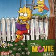 The Simpsons Movie Posters and newspaper and CD rom