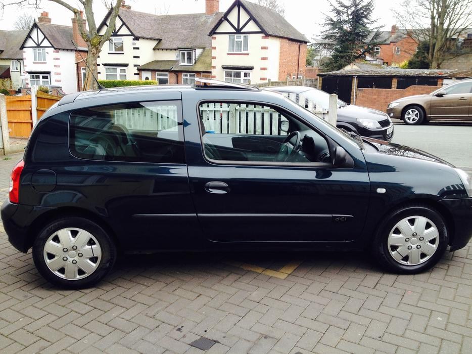 Clio 1 5dci 2005 163 30 Tax Only 83k Fantastic Car