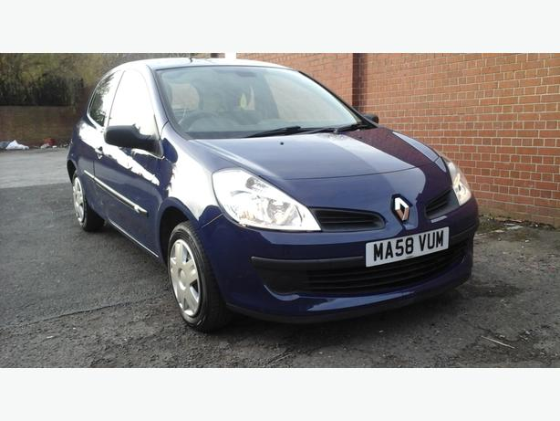renault clio 1 2 freeway 2008 wednesfield wolverhampton. Black Bedroom Furniture Sets. Home Design Ideas