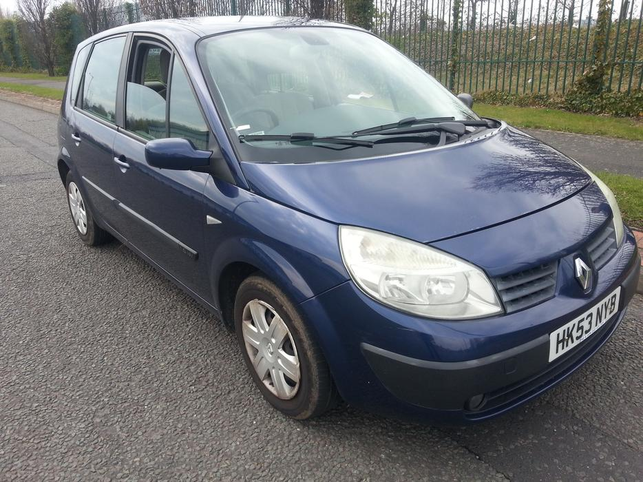 renault scenic 2004 1 6 long mot full service history wolverhampton sandwell. Black Bedroom Furniture Sets. Home Design Ideas