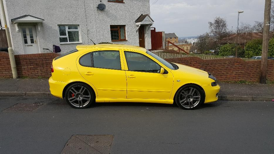 seat leon cupra r 225 bam bargain dudley walsall. Black Bedroom Furniture Sets. Home Design Ideas