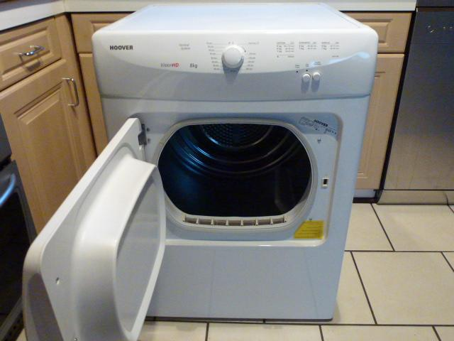 hoover vision hd 8kg tumble dryer immaculate wolverhampton dudley. Black Bedroom Furniture Sets. Home Design Ideas