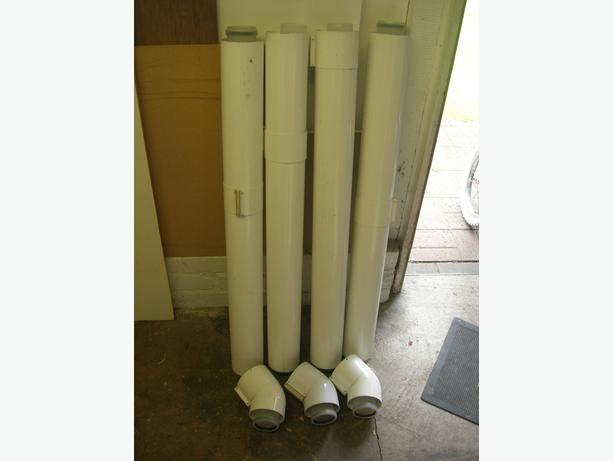 Boiler flue extension