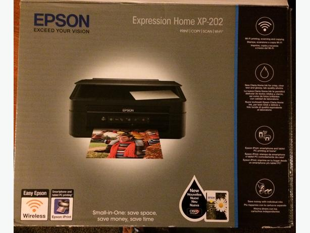 Repair Required? New Epson Expression XP 202 Printer with Epson Ink Cartridges