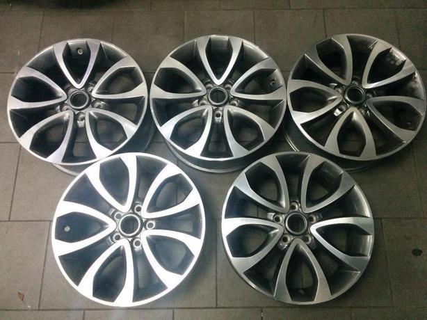 "For Sale: Bargain set of 5 genuine 17"" Nissan Alloy Wheels"