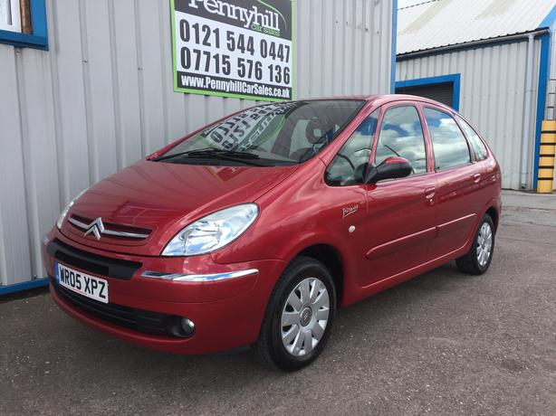 2005 citroen xsara picasso 1 6 hdi exclusive 1 owner f s h oldbury wolverhampton. Black Bedroom Furniture Sets. Home Design Ideas