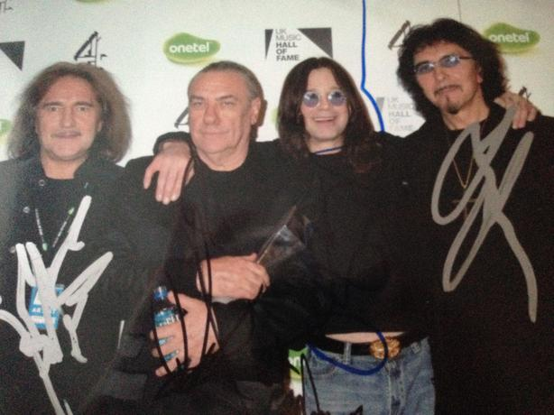 Black Sabbath Signed 10 by 8 needs to be gone ASAP!!!