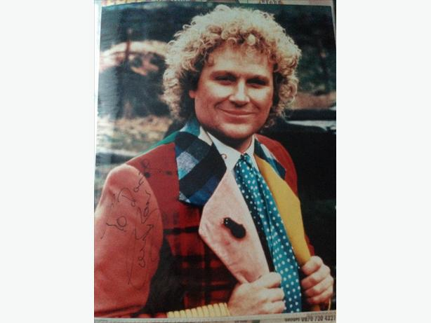 Colin Baker the 6th Doctor Who Signed Photo
