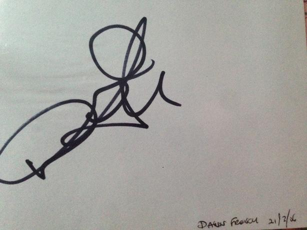Dawn French Signed