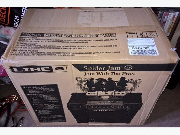 Line 6 Spider Jam 75 watt guitar amp (Brand New Boxed