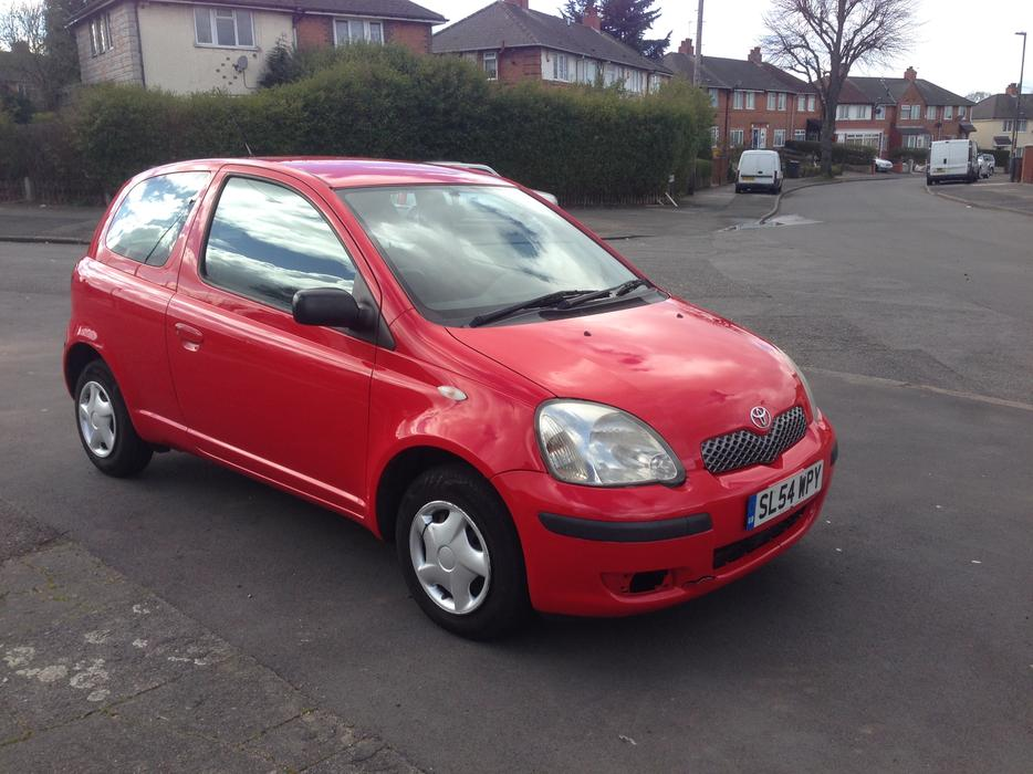 toyota yaris 1 0 2 doors 2004 54 plate other dudley. Black Bedroom Furniture Sets. Home Design Ideas