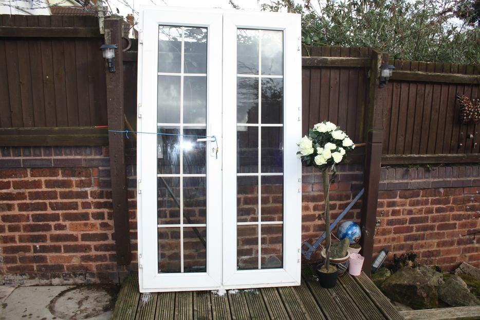 Patio door georgian style walsall sandwell mobile for Used patio doors
