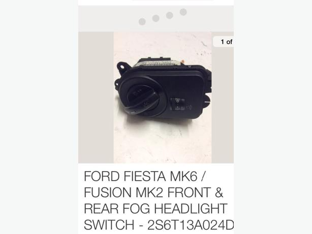 FORD FIESTA SWITCH