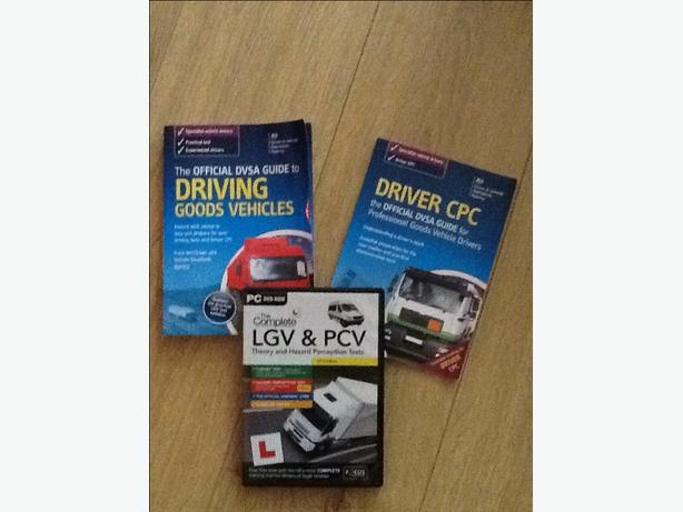 LGV & PCV books and DVD