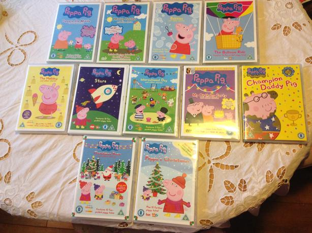 Peppa Pig DVDs ***Excellent condition****