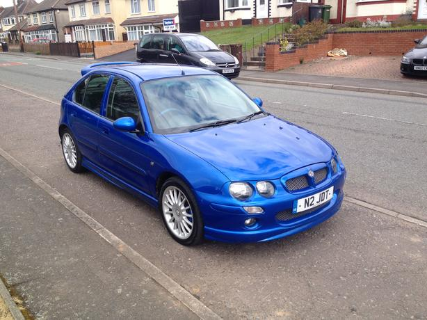 mg zr 1 8 160 bhp 2003 private plate only 78k wolverhampton dudley mobile. Black Bedroom Furniture Sets. Home Design Ideas