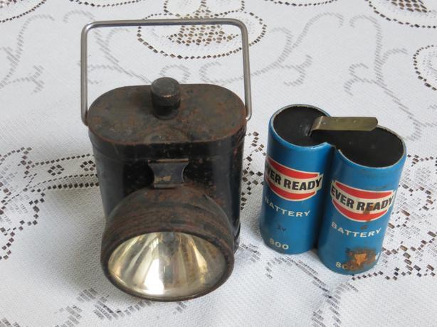 Vintage cycle lamp