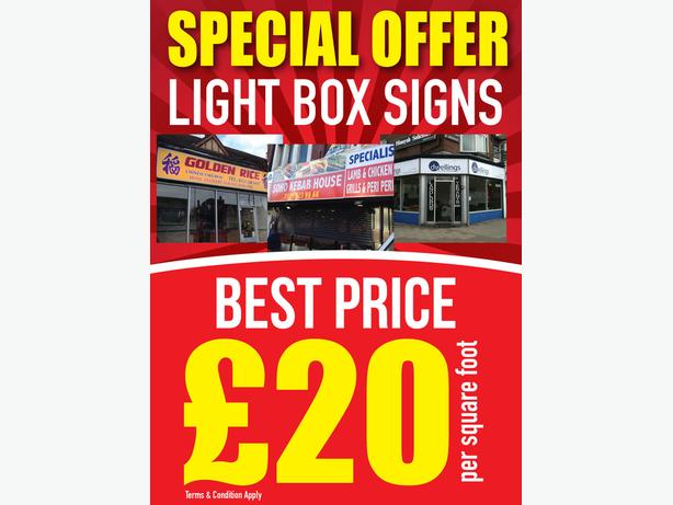  Log In needed £20 · Shop front Sign / Sign Board / 3D Letters Signage /  Light Box Sign