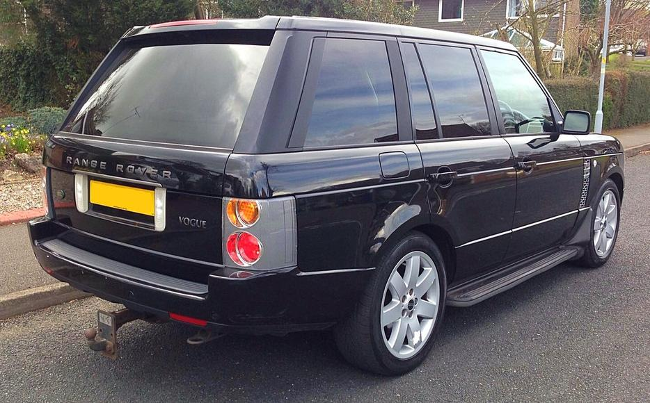 2003 land rover range rover vogue v8 auto black other sandwell. Black Bedroom Furniture Sets. Home Design Ideas