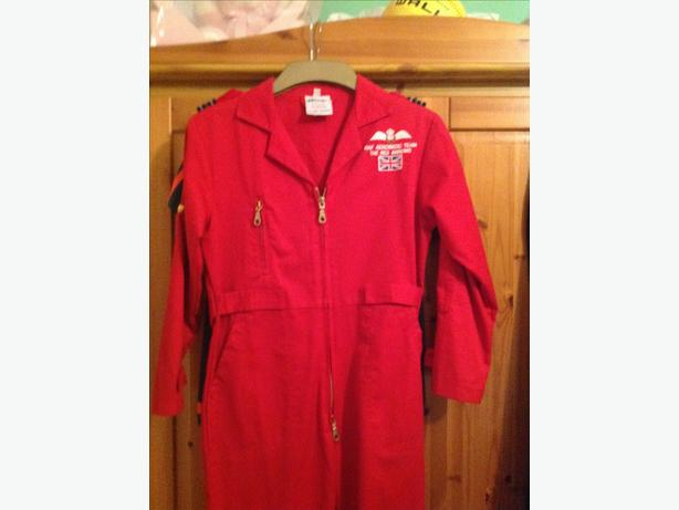 Red Arrows jump suit age8-9