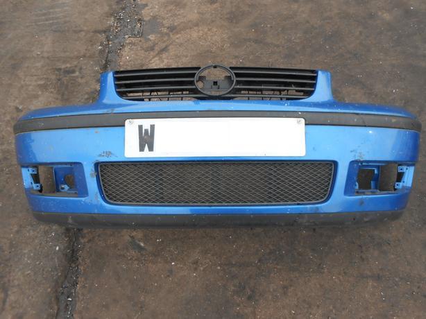 VOLKSWAGEN VW POLO 6N2 1999 - 2003 FRONT BUMPER BLUE