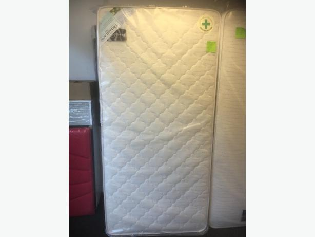 QUILTED GOLD DELUXE SINGLE MATTRESS