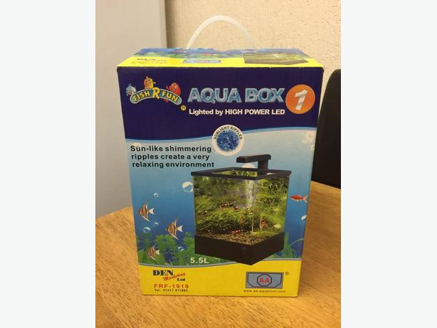 Small fish tank aquarium setup for sale rowley regis for Small fish tanks for sale