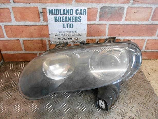 MG ZT 2004 - 2005 FACELIFT NS PASSENGER SIDE HEADLIGHT