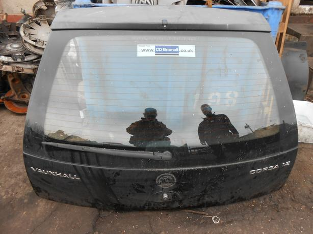 VAUXHALL CORSA C 2000 - 2006 HATCHBACK BOOT LID TAILGATE BLACK