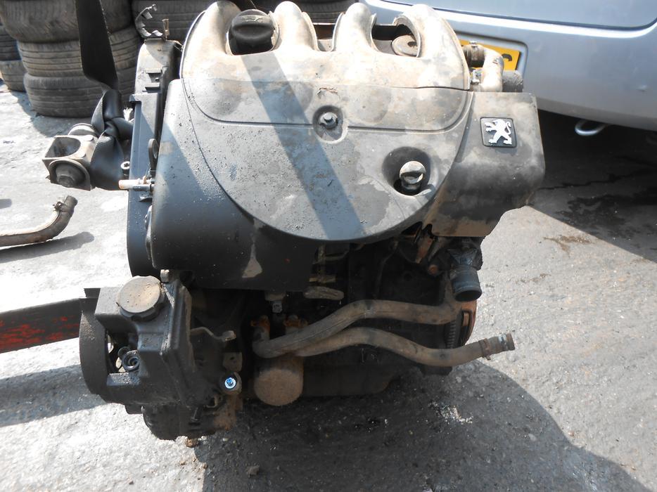 Peugeot Citroen 1 9 D Complete Engine Pump Injectors Wjy