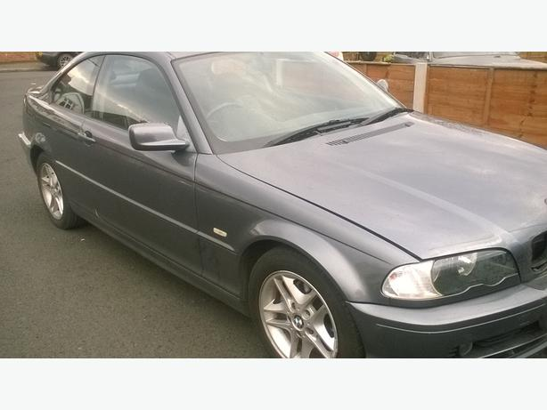 breaking bmw 318ci coupe 2003 e46 318 coupe 2003 outside. Black Bedroom Furniture Sets. Home Design Ideas